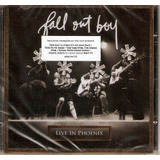Cd Fall Out Boy   Live In Phoenix   Novo
