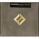 Cd Foo Fighters   Concrete And Gold  digipack    Novo