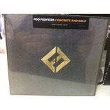 Cd Foo Fighters Concrete And Gold