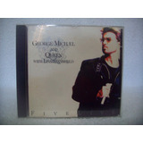 Cd George Michael And Queen With Lisa Stansfield  Five Live