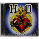 Cd H2o Thicker Than Water 1997 Americano Lacrado Epitaph