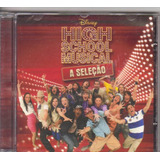 Cd High School Musical   A Seleção  Disney  Original