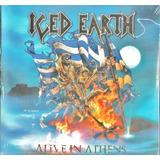 Cd Iced Earth   Alive In Athens   Cd Triplo      Lacrado