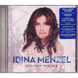 Cd Idina Menzel   Holiday Wishes  frozen glee rent  If then