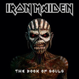 Cd Iron Maiden   The Book Of Souls  duplo  Novo   Lacrado