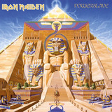 Cd Iron Maiden Powerslave Lacrado