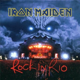 Cd Iron Maiden Rock In Rio Lacrado 2 Cds
