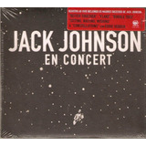 Cd Jack Johnson   En Concert   Pac     Novo