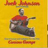 Cd Jack Johnson And Friends   Curious George 2005