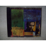 Cd Jackson Browne  World In Motion  Importado  usa