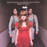 Cd Jenny Lewis With The Watson Twins   Rabbit