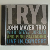 Cd John Mayer Trio Try   2005    Novo Lacrado De Fábrica