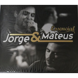 Cd Jorge E Mateus   Essencial   Digipack  978799