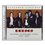 Cd Kansas   Extended Versions Live   Importado   Lacrado