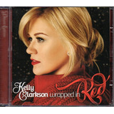 Cd Kelly Clarkson   Wrapped In Red  original