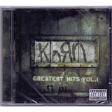 Cd Korn   Greatest Hits Vol 1   Novo