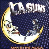 Cd L a guns  Man In The Moon