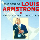 Cd Lacrado Louis Armstrong The Best Of 16 Great Tracks