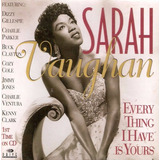 Cd Lacrado Sarah Vaughan Every Thing I Have Is Yours 1997