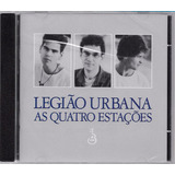 Cd Legiao Urbana As Quatro Estacoes Novo Lacrado Original