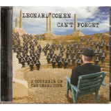 Cd Leonard Cohen   Can  T Forget   Novo