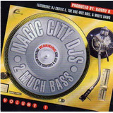Cd Magic City Djs 2 Much Bass  Vol 1  importado