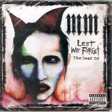 Cd Marilyn Manson - Lest We Forget - The Best Of - Novo***