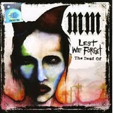 Cd Marilyn Manson   Lest We Forget   The Best Of
