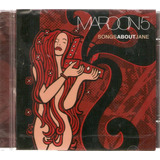 Cd Maroon 5   Songs About Jane   Novo