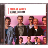 Cd Men At Work Grandes Sucessos Novo Original Frete Gratis