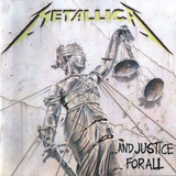 Cd Metallica   And Justice For All  1988  Lacrado