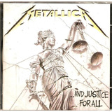 Cd Metallica      and Justice For All   Novo