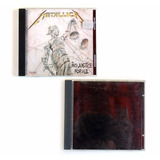 Cd Metallica Lote 2 Cds And Justice For All E Black Album