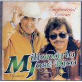 Cd Milionário & José Rico   Sentimental Demais Vol  25  novo