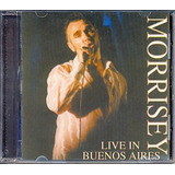 Cd Morrisey   Live In Buenos Aires   2000   The Smiths