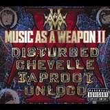 Cd Music As A Weapon Ii Com Disturbed  Chevelle  Taproot
