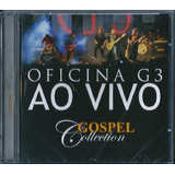 Cd Oficina G3 Ao Vivo   Gospel Collection  mk music
