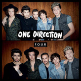 Cd One Direction Four Novo Lacrado