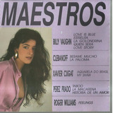 Cd Original Maestros   Billy Vaughn Xavier Cugat Perez Prado