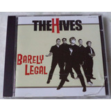 Cd Original The Hives Barely Legal