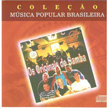 Cd Os Originais Do Samba   Cole��o M�sica Popular Brasileira