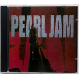Cd Pearl Jam Ten 1991 Sony Music Once Even Flow Alive Black