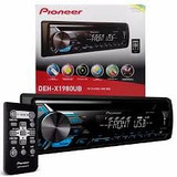 Cd Player Pioneer Deh x1980ub Mixtrax Entrada Mp3 Usb Aux