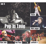 Cd Pop In Love Vol  4 Queen Mick Jagger Bee Gees Jackson 5