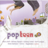 Cd Pop Teen   Tvz   Hilary Duff   Britney Spears   T a t u