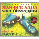 Cd Quincy Jones   Mas Que Nada Remix  Tamba Trio   Importado
