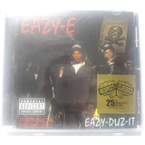 Cd Rap Eazy e Compton Eazy Duz It Nwa Lacrado Importado Usa