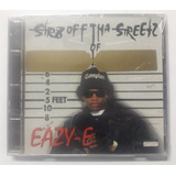 Cd Rap Eazy e Str8 Off Street Of Compton Importado Usa
