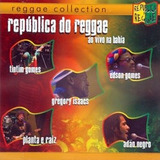 Cd Republica Do Reggae   Edson Gomes  Adao Negro  Timtim