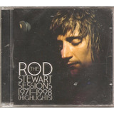 Cd Rod Stewart   The    Sessions 1971 1988   Highlights